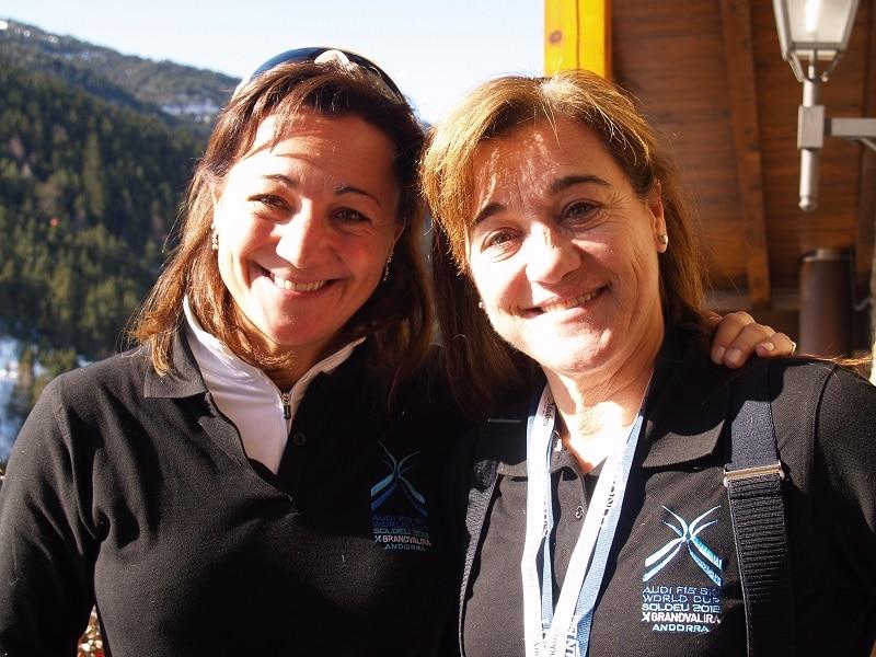 Lola y Blanca Fernández Ochoa