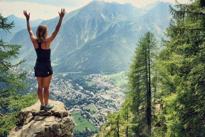 La montaña parque de atracciones