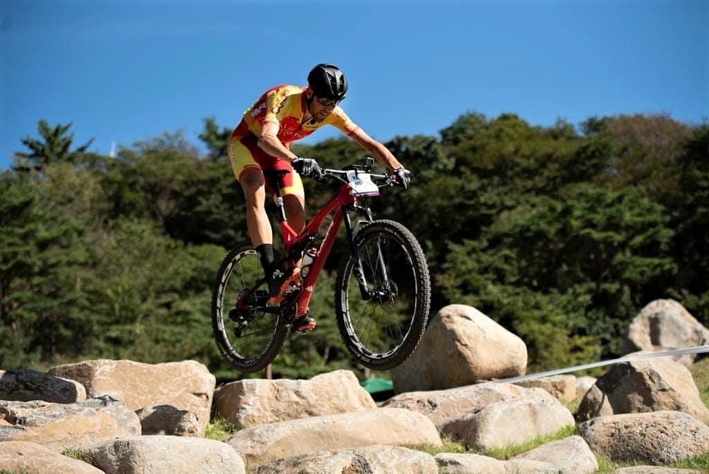 David Valero test olímpico JJ. OO. Tokio 2020