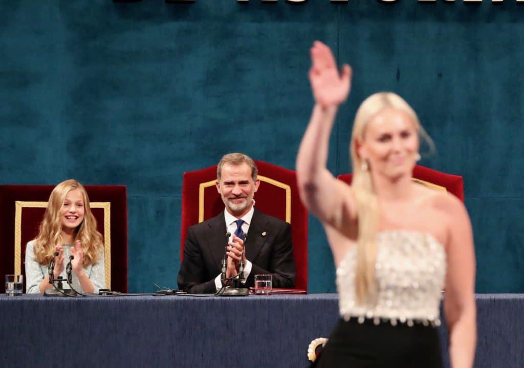 Lindsey Vonn Premio Princesa de Asturias de los Deportes