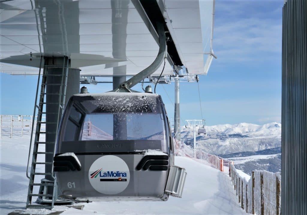La Molina Telecabina Tosa d'Alp