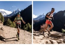 Anna Comet y Suman Kulung Everest Trail Race 2019