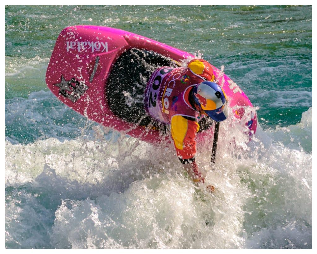 Dane Jackson kayak estilo libre