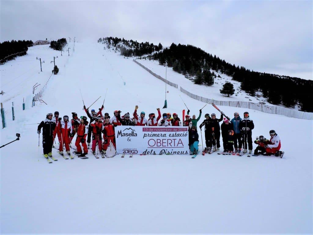 Masella estaciones de esquí del pirineo