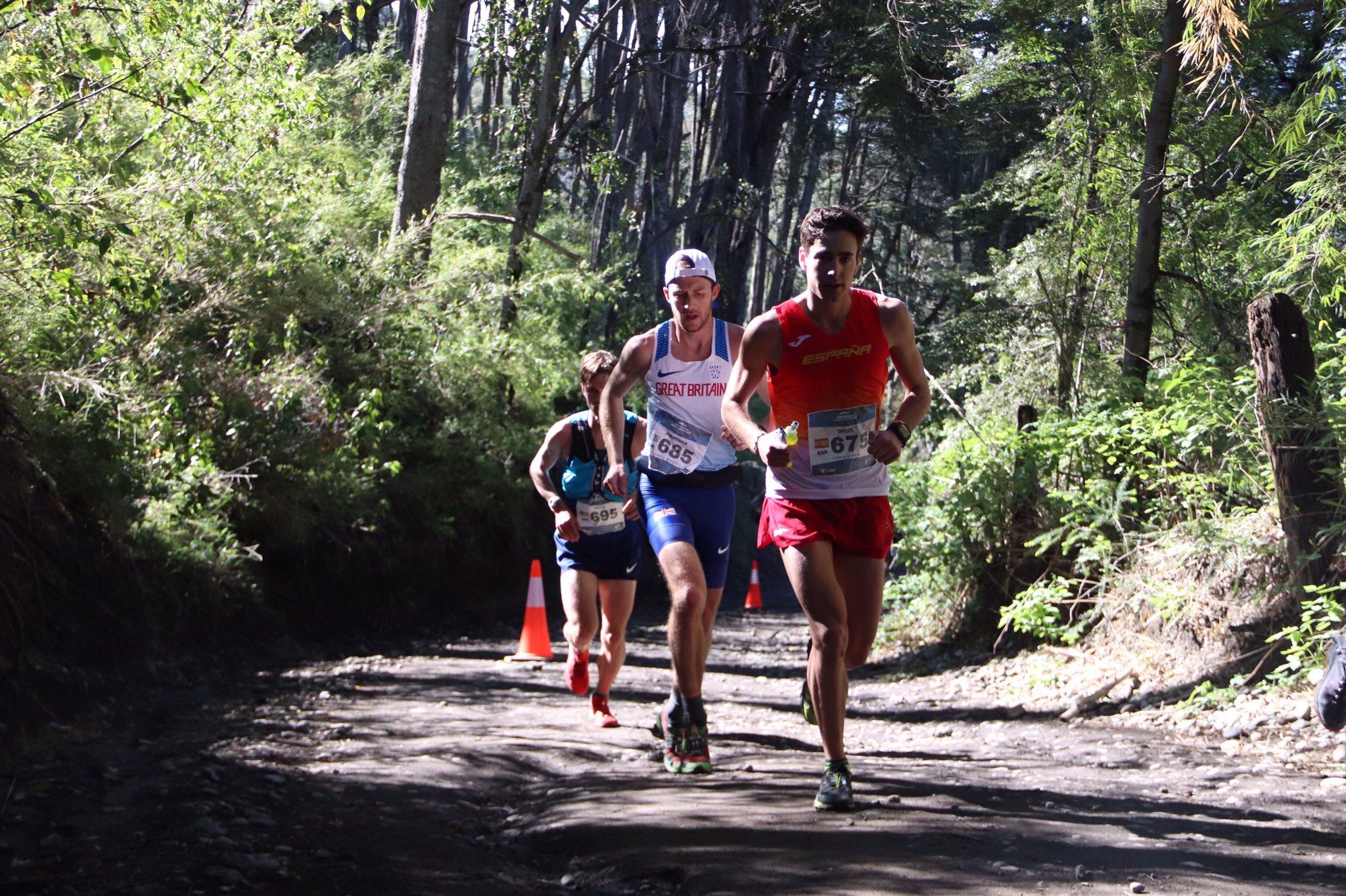 Oriol Cardona Mundial de trail running de Villa La Angostura