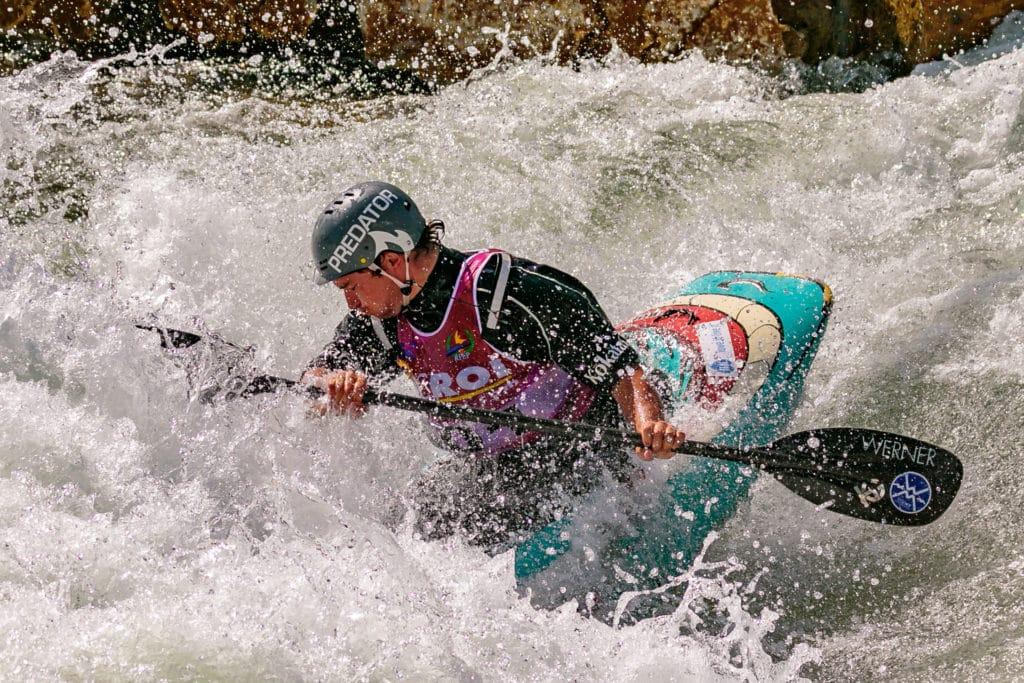 Quim Fontané kayak estilo libre