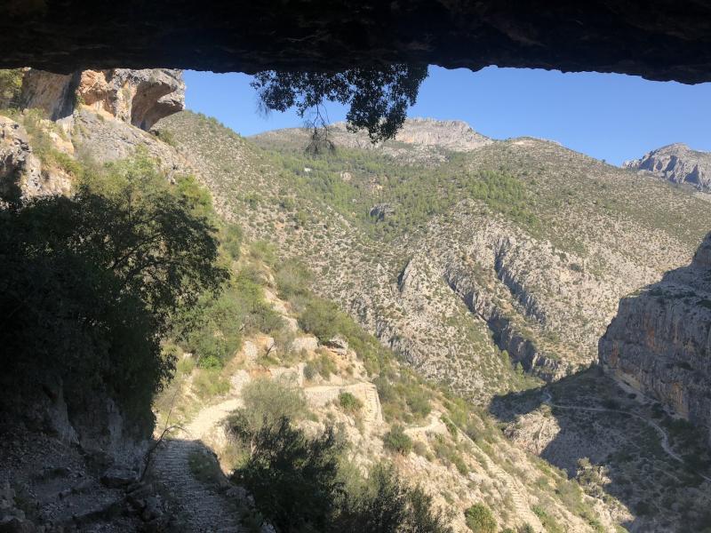 Carles Aguilar Vall de LaguarCatedral del Senderismo Barranc de l'Infern Barranco del Infierno