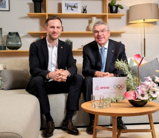 Airbnb The Olympic Partners (TOP) Comité Olímpico Internacional