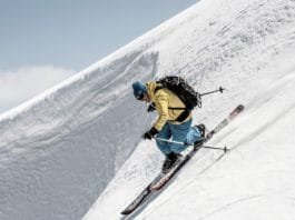 Coretti esquís artesanos bambú