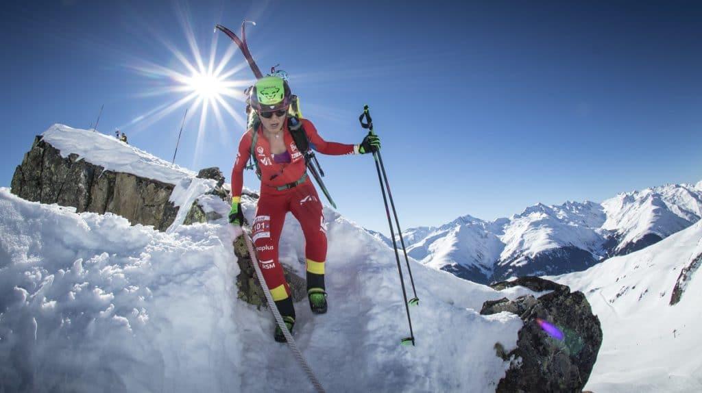 Clàudia Galicia Copa del Mundo de esquí de montaña skimo