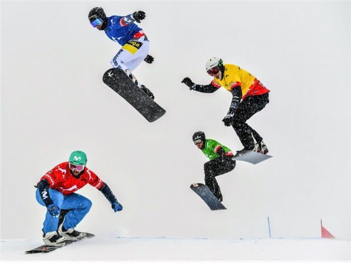 Lucas Eguibar Copa del Mundo snowboardcross 2019-2020 Montafon