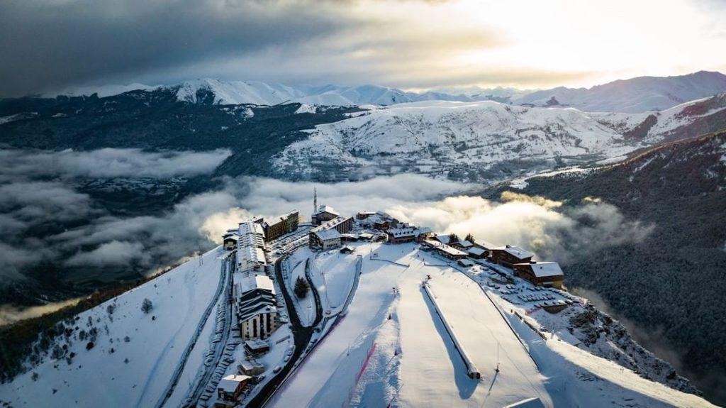 Saint Lary Pirineo francés para disfrutar esquí y nieve