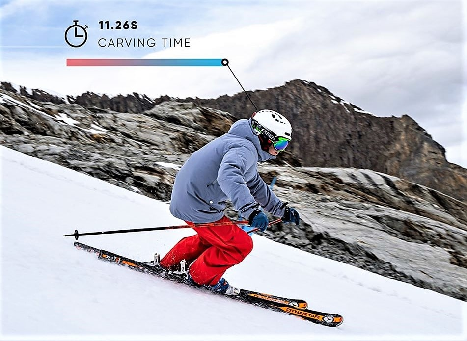 Carv instructor de esquí digital
