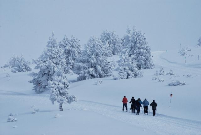 destinos de nieve Pirineo francés