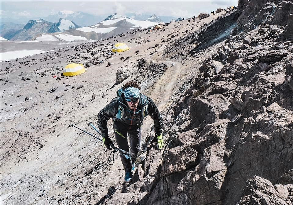 Martin Zhorn récord de ascenso al Aconcagua