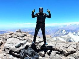 Martin Zhorn Aconcagua Fastest Known Time