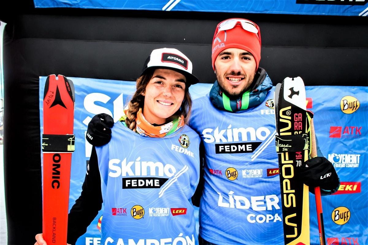 Ana Alonso Iñigo Martínez de Albornoz, Campeones de Copa España 2020 esquí de montaña Boí Taüll Resort