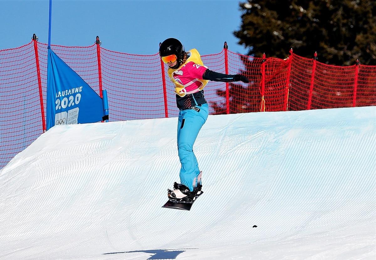 Aina Gomariz snowboardcross YOG 2020 Lausana