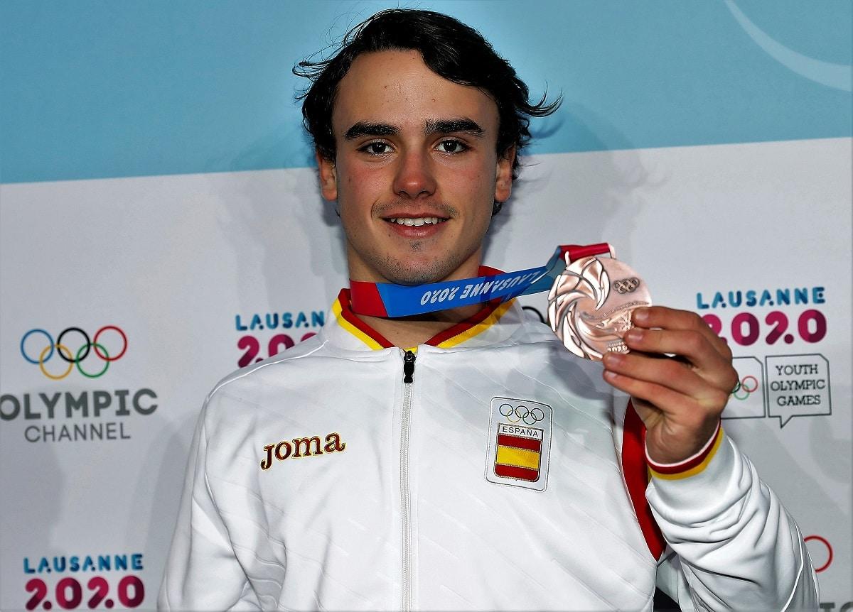 Álvaro Romero snowboardcross YOG 2020 Lausana