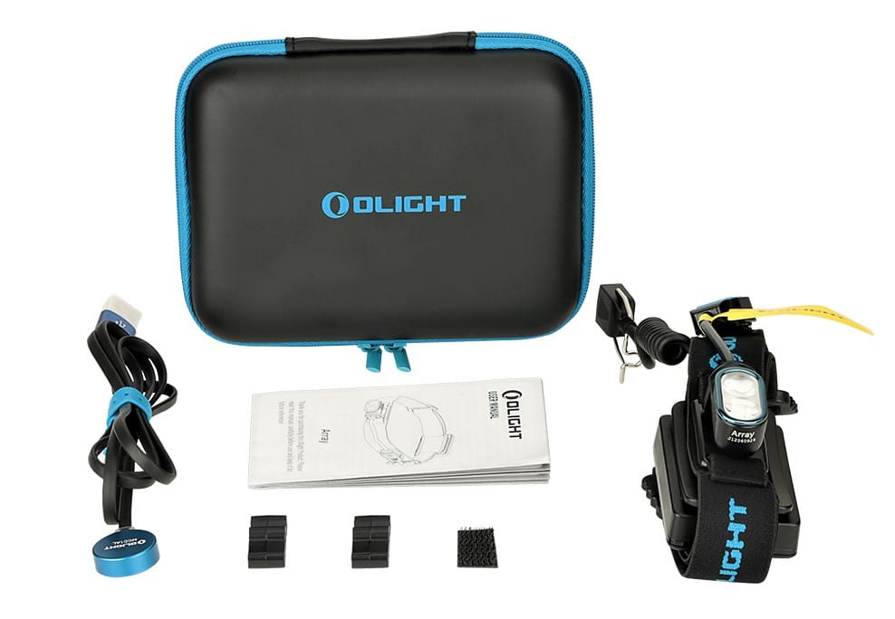 frontal de trailrunning Olight Array