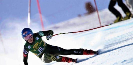 Mikaela Shiffrin Bansko descenso
