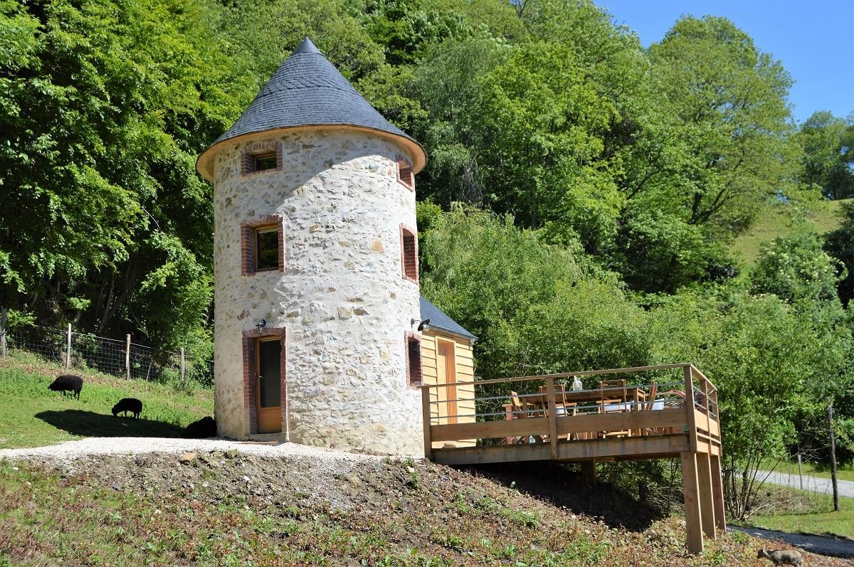 alojamientos Pirineo francés