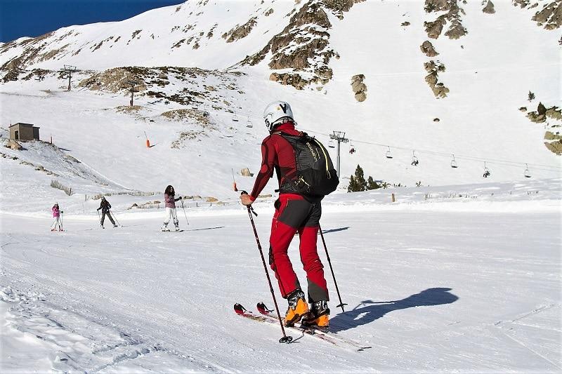 estaciones de esquí skimo esquí de montaña