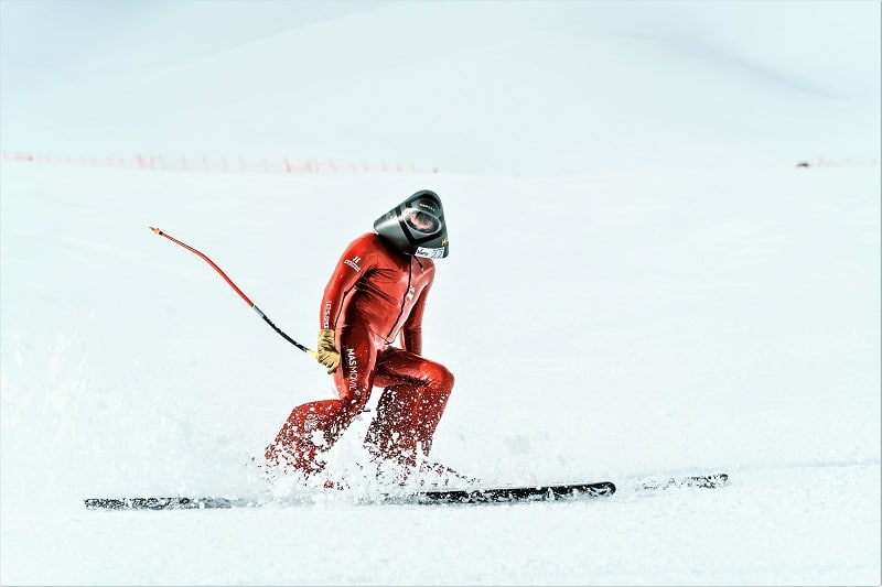 Jan Farrell Simone Origone Britta Backlund Copa del mundo esquí velocidad Vars