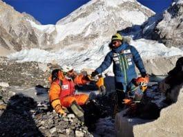 Jonatan García accidente evacuar Everest