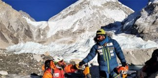 Jonatan García accidente evacuar Everest