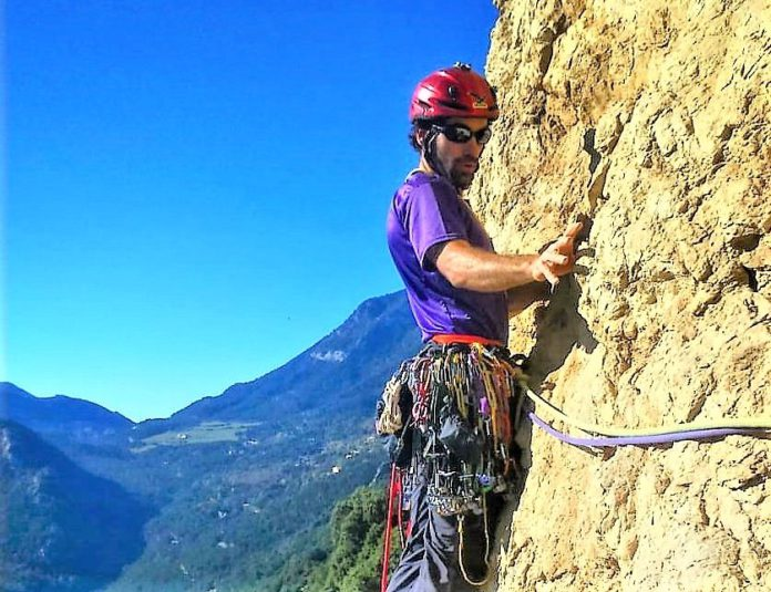 escalador Xavi Batriu puente Cercs