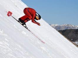 Simone Origone Britta Backlund Copa del mundo esquí velocidad Vars