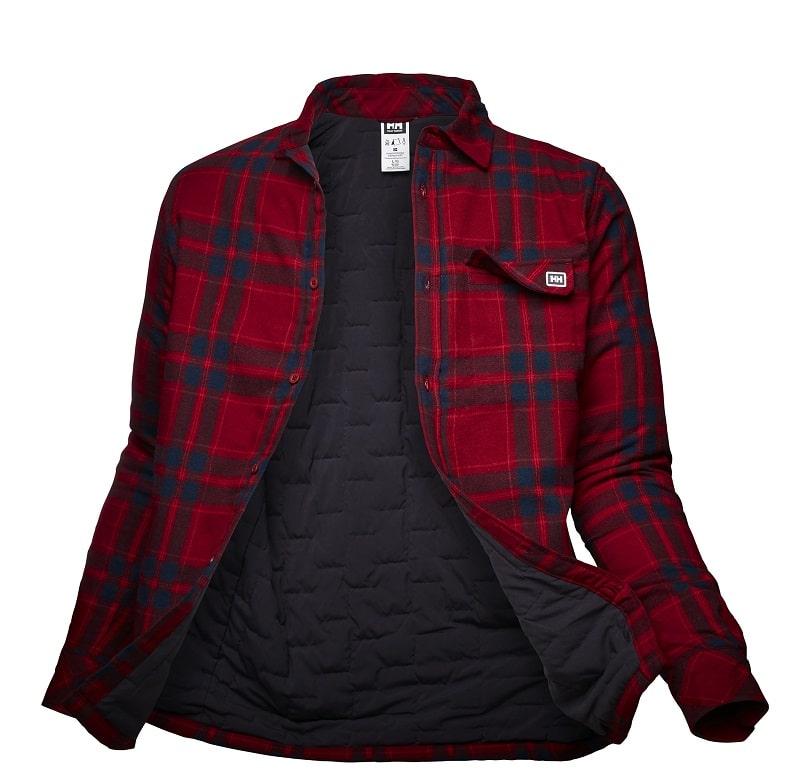 lifaloft™ insulated shirt jacket casual de Helly Hansen