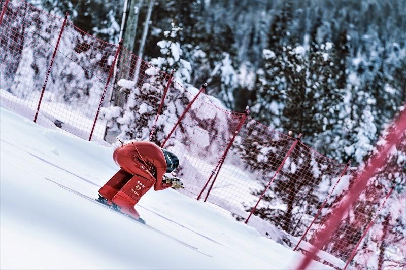 Jan Farrell Sella Ski Resort Copa del Mundo de esquí de velocidad