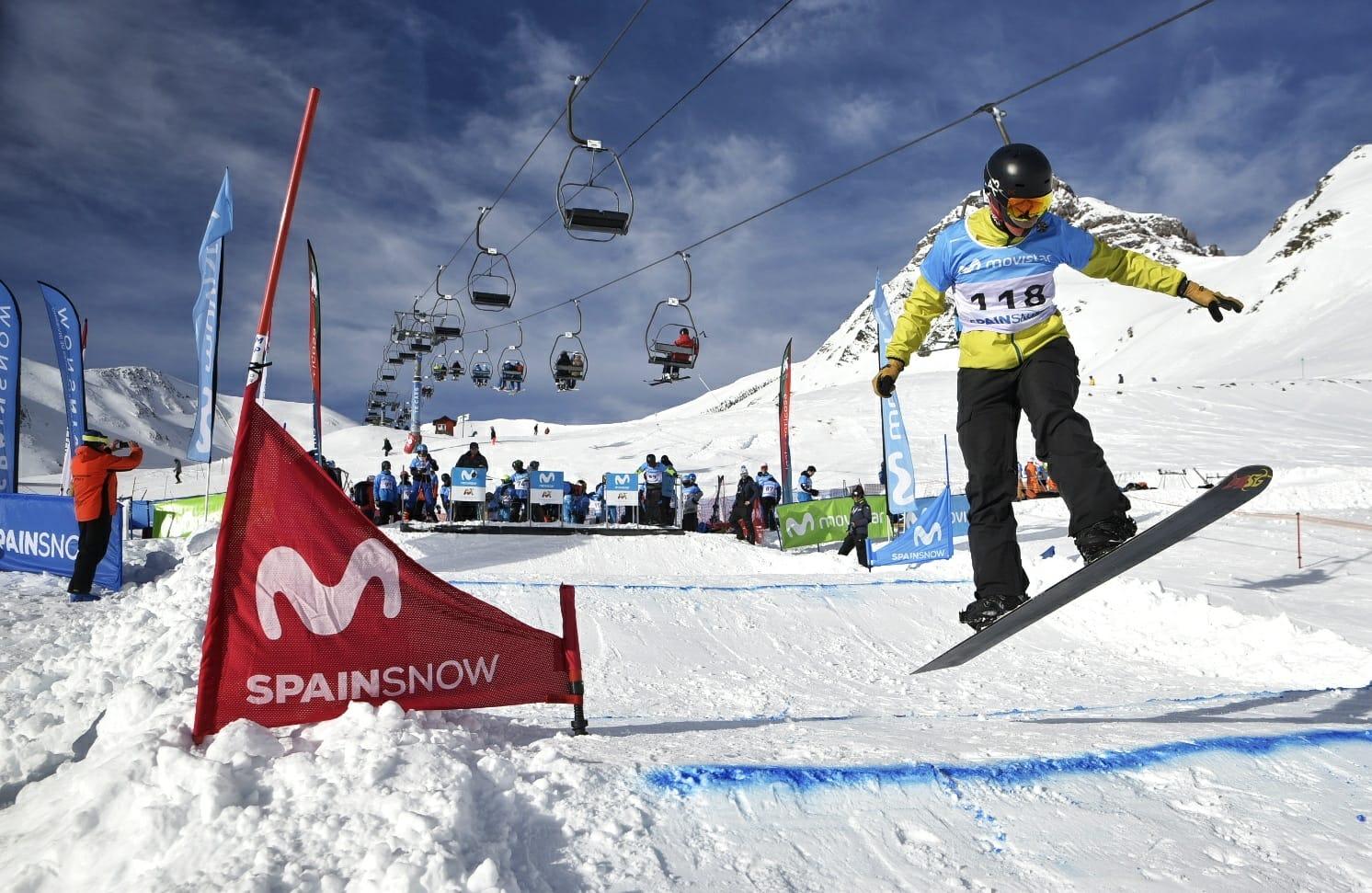 vacantes Campeonatos de España esquí alpino, esqui fondo SBX