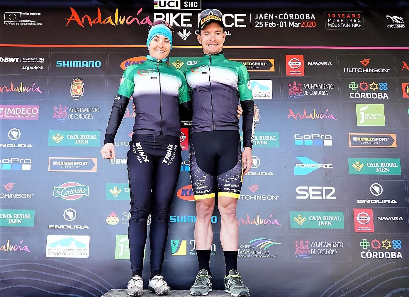 Fabian Rabensteiner Eva Lechner Andalucia Bike Race 2020