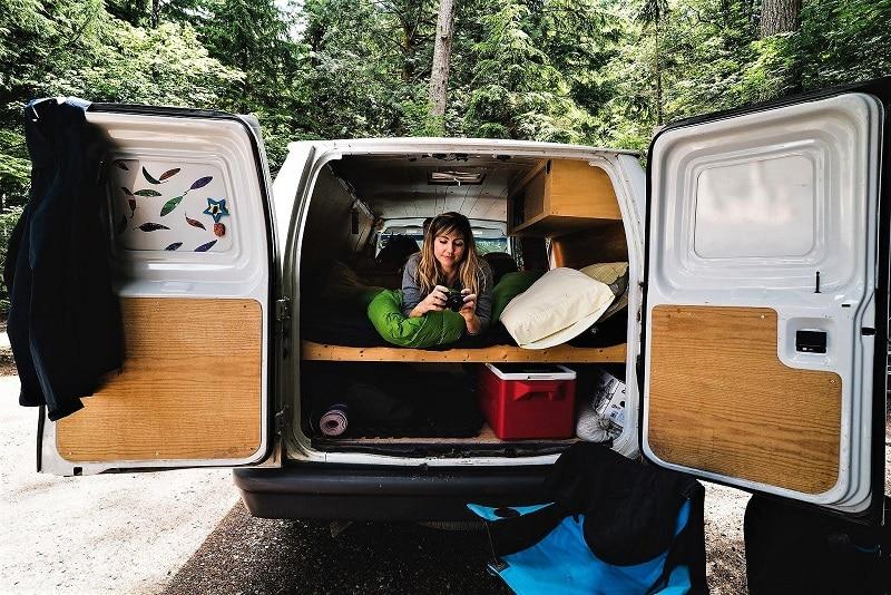 Colette McInerney furgoneta camper