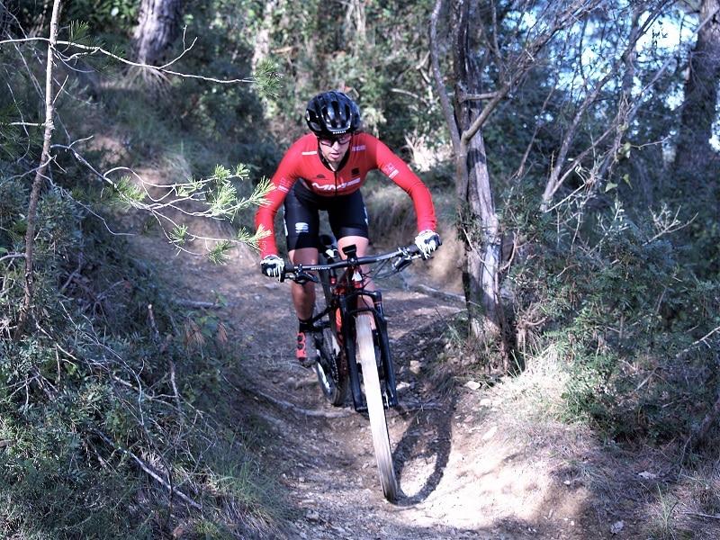 Txell Figueras Copa del Mundo de mountain bike Andorra