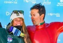 Britta Backlund Simone Origone Copa del mundo de esquí de velocidad