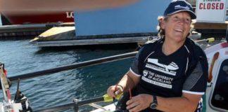 Angela Madsen oceano Pacífico