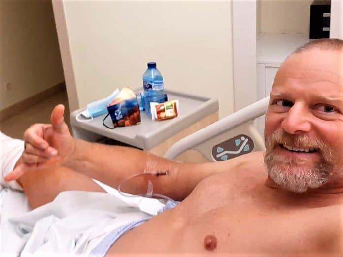 Antonio De la Rosa cabeza peroné izquierdo clínica CEMTRO