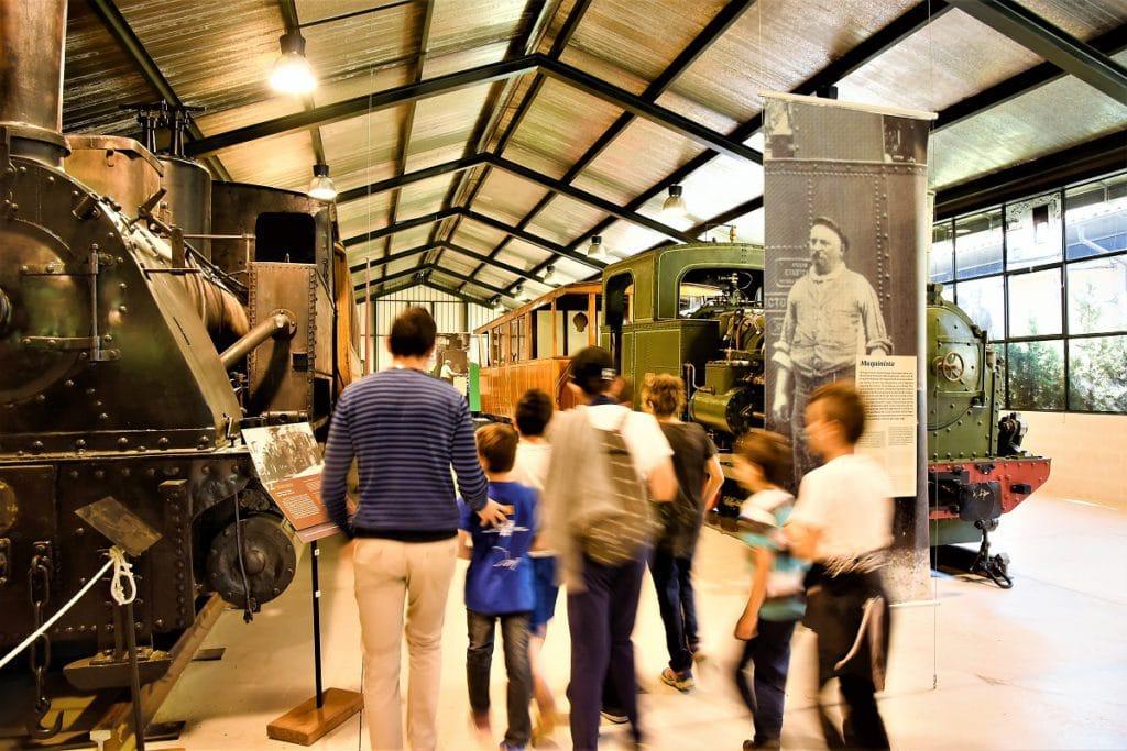 tren del ciment atracción turistica Alt Berguedá familias con niños