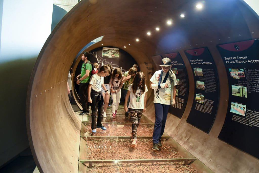 tren del ciment atracción turistica Alt Berguedá familias con niños Museo