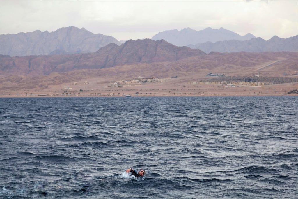 travesia 5 continentes golfo de Aqaba