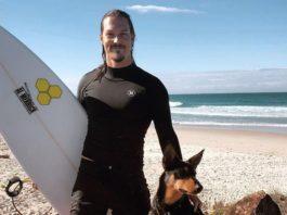 snowboarder Alex Pullin pesca submarina