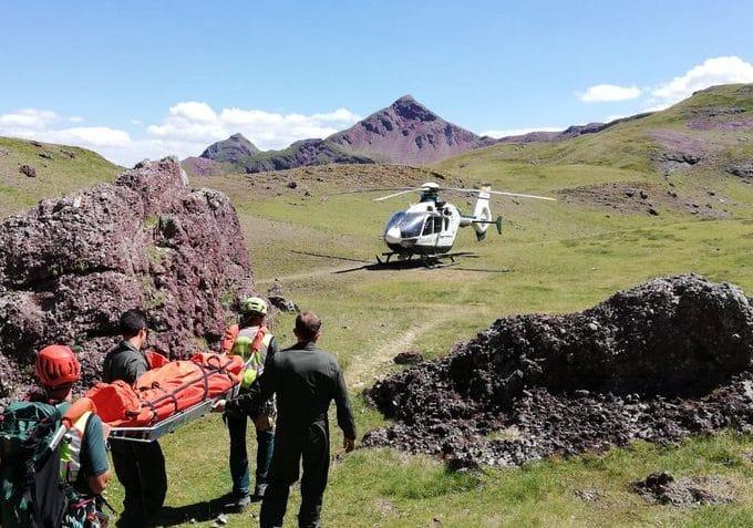 rescates en montaña imprudencias