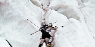Andrzej Bargiel esquís K2: The Impossible Descent
