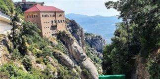 Montserrat funicular Santa Cova