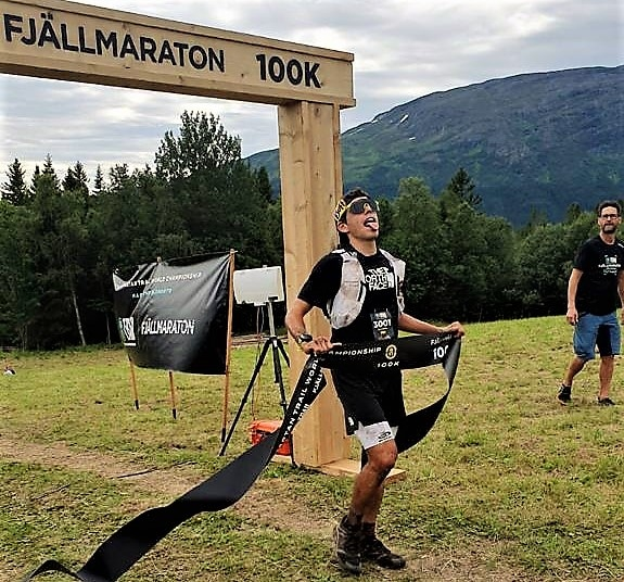 Jordi Gamito Azara García Pau Capell Fjällmaraton 100k