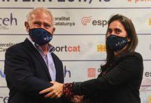 Mónica Bosch Oscar Cruz presidencia Federació Catalana d'Esports d'Hivern FCEH